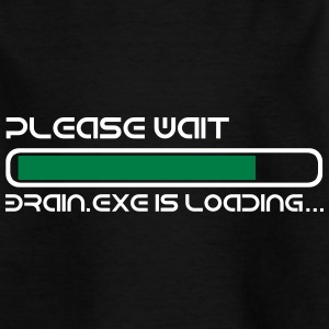 BRAIN IS LOADING T-shirts - Teenager-T-shirt