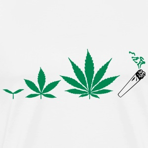 Cannabis development T-shirts - Mannen Premium T-shirt