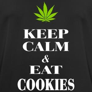 Keep Calm & Eat Cookies T-Shirts - Men's Breathable T-Shirt