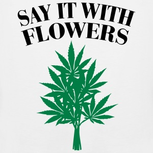 Cannabis - Say it with Flowers Canotte - Canotta premium da uomo