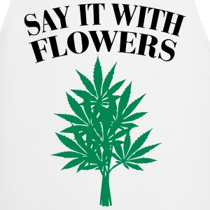 Cannabis - Say it with Flowers Forklæder - Forklæde