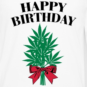 Cannabis - Happy Birthday  Manches longues - T-shirt manches longues Premium Homme