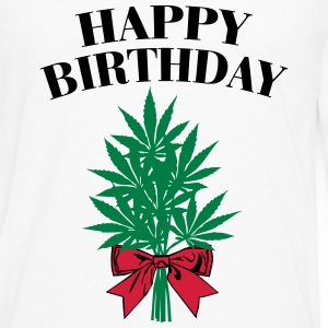 Cannabis - Happy Birthday  Long sleeve shirts - Men's Premium Longsleeve Shirt