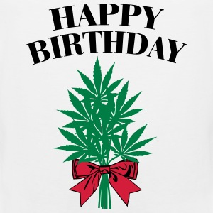 Cannabis - Happy Birthday  Tank topy - Tank top męski Premium