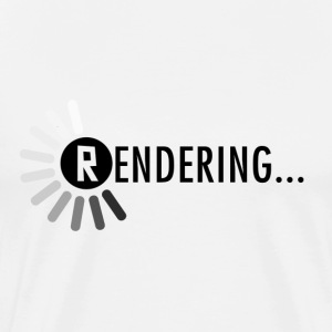 Rendering - Men's Premium T-Shirt