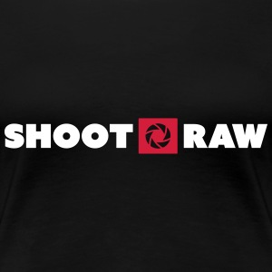 shoot raw T-Shirts - Frauen Premium T-Shirt