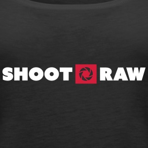 shoot raw Tops - Frauen Premium Tank Top