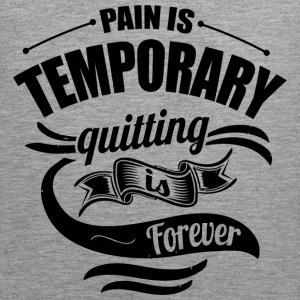 Pain Gym Sports Quotes - Men's Premium Tank Top