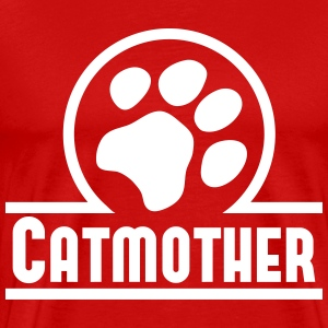 Catmother T-shirts - Mannen Premium T-shirt
