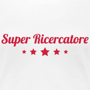 ricercatore ricerca scientifica geek laboratorio T-Shirts - Women's Premium T-Shirt