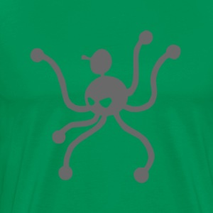octopus with six legs - Men's Premium T-Shirt