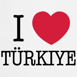 I LOVE TURKEY - I LOVE TÜRKIYE Delantales - Delantal de cocina