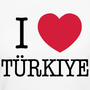 I LOVE TURKEY - I LOVE TÜRKIYE Tee shirts - T-shirt Bio Femme