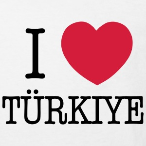 I LOVE TURKEY - I LOVE TÜRKIYE Shirts - Kids' Organic T-shirt