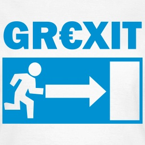 Grexit T-Shirts - Frauen T-Shirt
