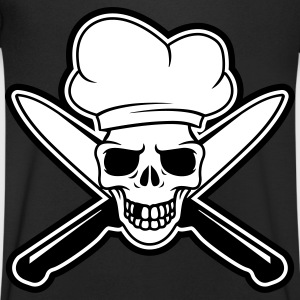 Skull chef T-Shirts - Men's V-Neck T-Shirt