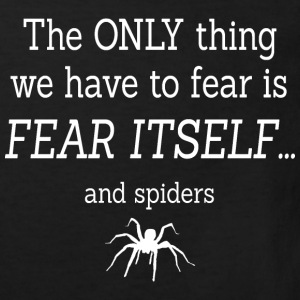 FEAR OF SPIDERS Shirts - Kids' Organic T-shirt