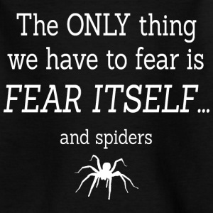 FEAR OF SPIDERS Camisetas - Camiseta niño