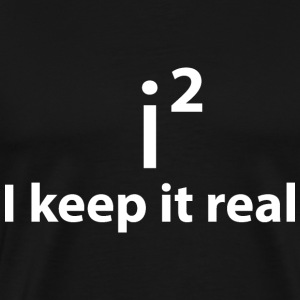 KEEP IT REAL - STAY FAITHFUL T-shirts - Herre premium T-shirt