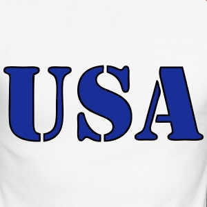 usa 05 Manches longues - T-shirt baseball manches longues Homme