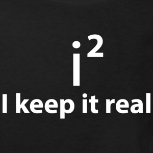 KEEP IT REAL - STAY FAITHFUL Shirts - Kids' Organic T-shirt