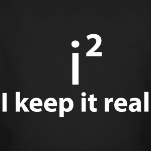 KEEP IT REAL - STAY FAITHFUL T-Shirts - Men's Organic T-shirt