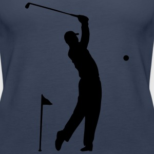 Golf - Sportler Motiv Hole in One Tops - Frauen Premium Tank Top