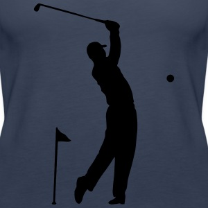 Golf - Hole in One athlete Scene Tops - Women's Premium Tank Top