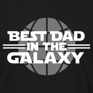 Best dad in the galaxy T-skjorter - T-skjorte for menn