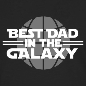 Best dad in the galaxy Skjorter med lange armer - Premium langermet T-skjorte for menn