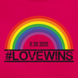 Love Wins T-Shirts - Frauen T-Shirt