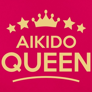 aikido queen stars - Frauen T-Shirt
