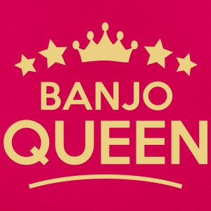 banjo queen stars - Frauen T-Shirt