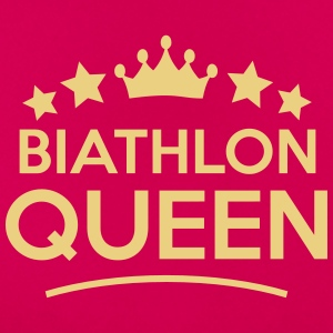 biathlon  queen stars - Women's T-Shirt