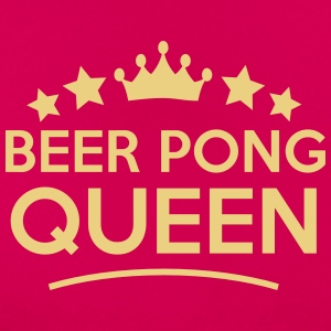 beer pong queen stars - Frauen T-Shirt