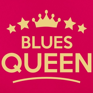 blues queen stars - Women's T-Shirt