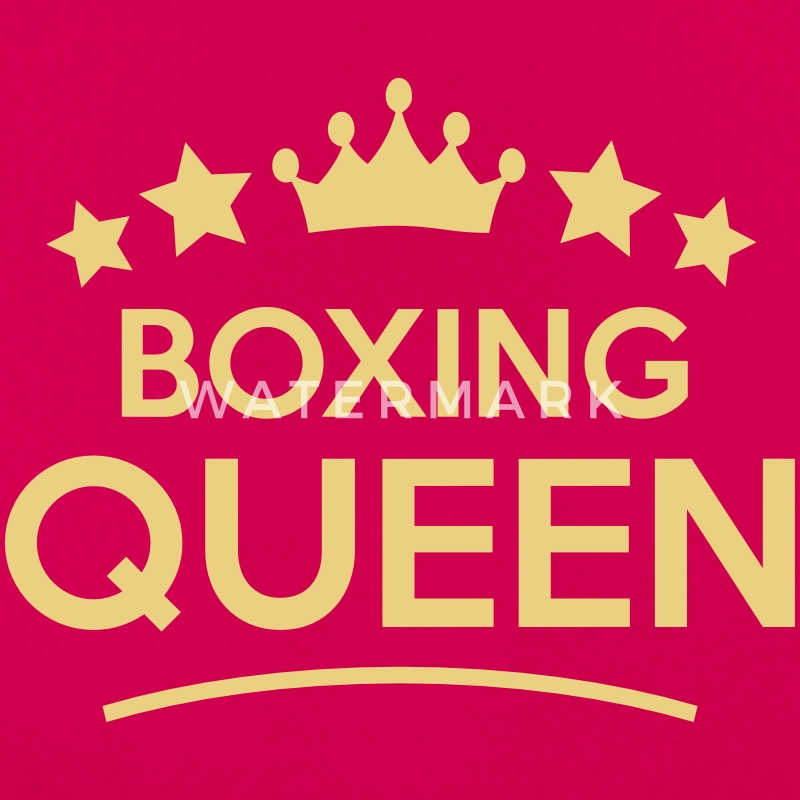 boxing queen stars - Women's T-Shirt