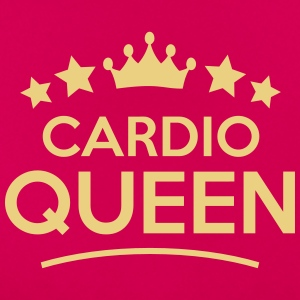 cardio queen stars - Frauen T-Shirt