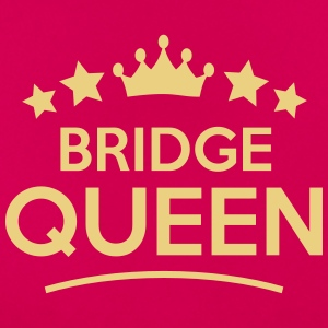 bridge queen stars - Frauen T-Shirt
