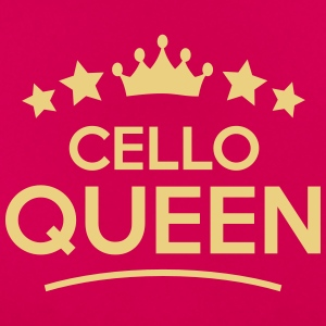 cello queen stars - Women's T-Shirt