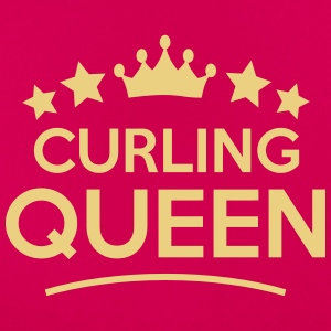 curling  queen stars - Women's T-Shirt
