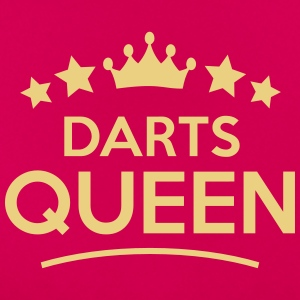 darts  queen stars - Frauen T-Shirt