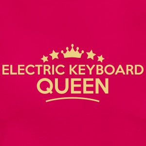 electric keyboard queen stars - Frauen T-Shirt