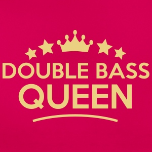 double bass  queen stars - Women's T-Shirt