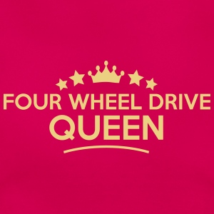 four wheel drive queen stars - Women's T-Shirt