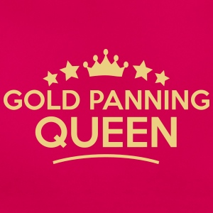 gold panning queen stars - Women's T-Shirt