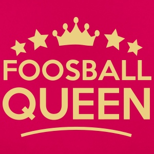 foosball queen stars - Women's T-Shirt