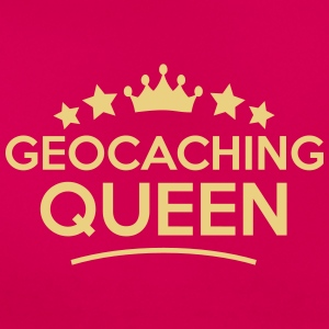 geocaching queen stars - Women's T-Shirt