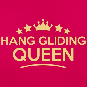 hang gliding queen stars - Frauen T-Shirt