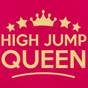 high jump  queen stars - Women's T-Shirt
